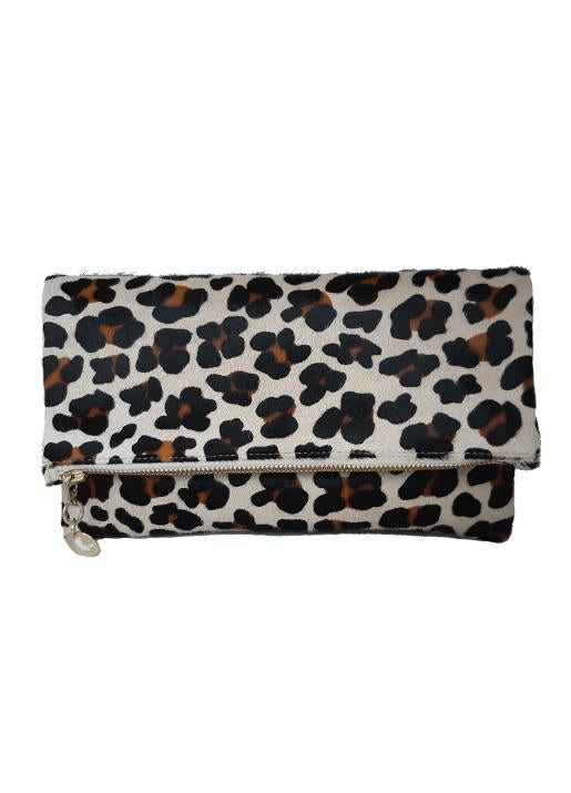 The Code Accessories  Leopard Print Foldover