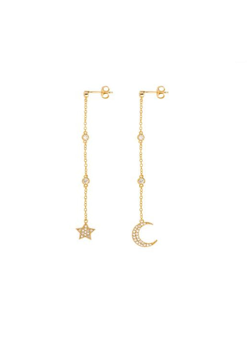 Shashi NYC  Luna Drop Earrings