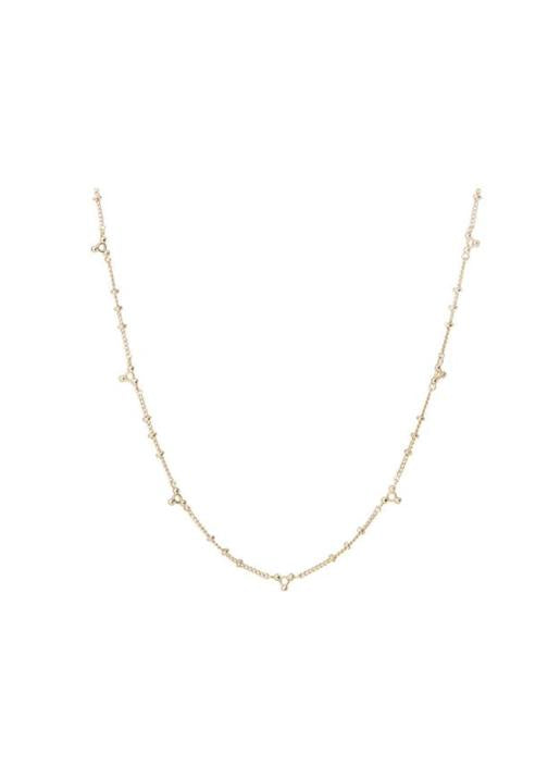 luv aj  Marrakech Chain Necklace Gold