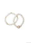 Electric Picks  Vogue Bracelet Set of 2 - Moonstone