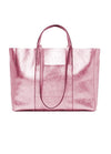 Gianni Chiarini  Superlight Large Tote - Metallic Pink