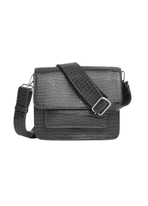 Hvisk  Cayman Pocket Crossbody Bag - Dark Grey