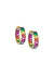 Adina's Jewels  Rainbow Hoop Large Huggies