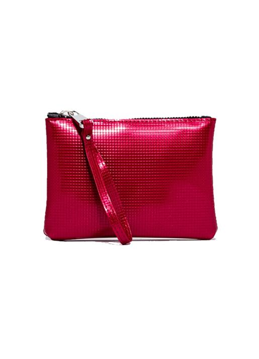 GUM by Gianni Chiarini  Large Numbers Clutch Bag - Fuchsia