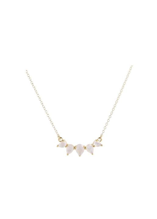 Leah Alexandra  Sunny Moonstone Necklace
