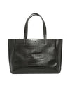 Ela Handbags  Large Croc Tote