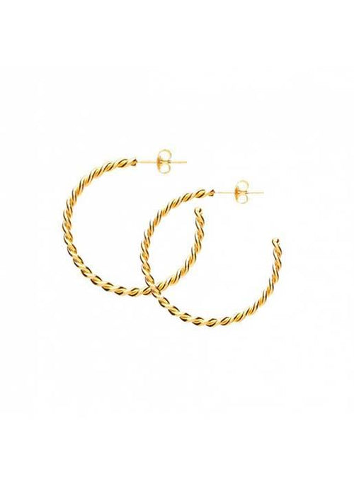 Maison Irem  Twisted Hoops