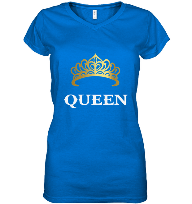 Women's Queen V-Neck shirt