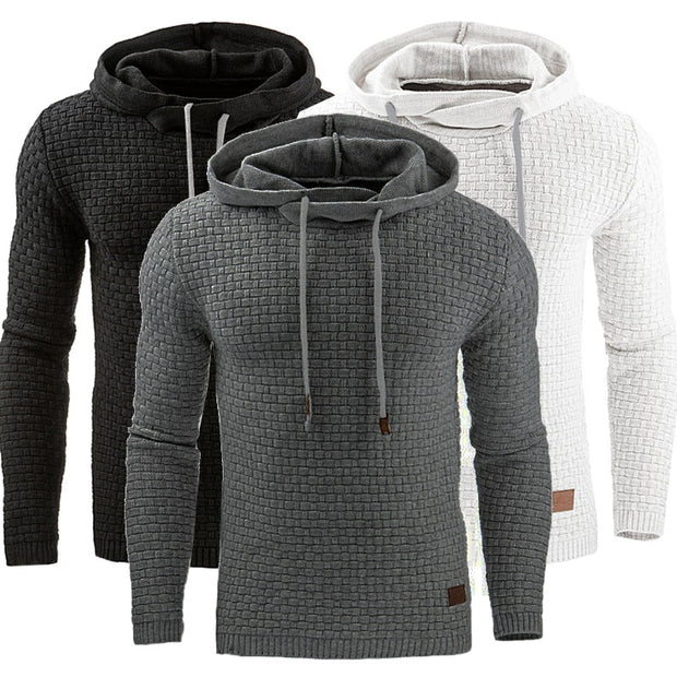 Hot Male Long Sleeve Sweat Coat Casual Sportswear