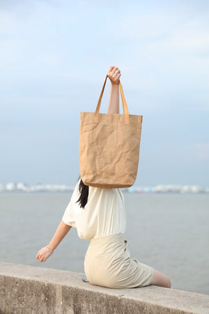 Tote Bag D-4791 Brown