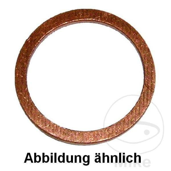 COPPER SEALING WASHER 6X10X1