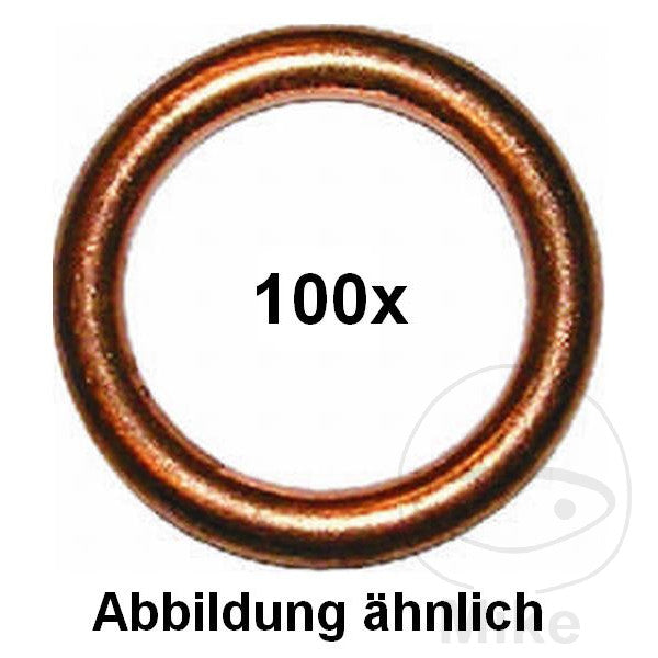 EXHAUST SEALING RING 16X22X2.0