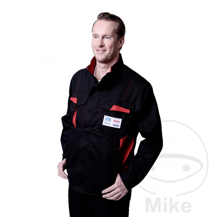 WORK JACKET MIT LOGOS GR.56
