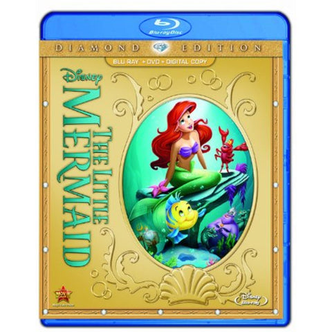 The Little Mermaid (Two-Disc Diamond Edition: Blu-ray / DVD)