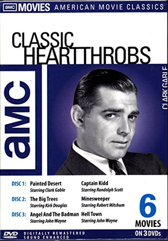 AMC Classic Heart-Throbs (3-Disc): Painted Desert / Captain Kidd / Big Trees / Minesweeper / Angel And The Badman / Hell Town