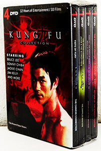 Kung Fu Collection DVD 2009 4-disc Set