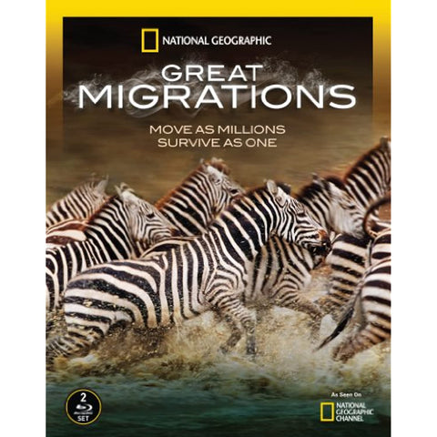 National Geographic: Great Migrations [Blu-ray]