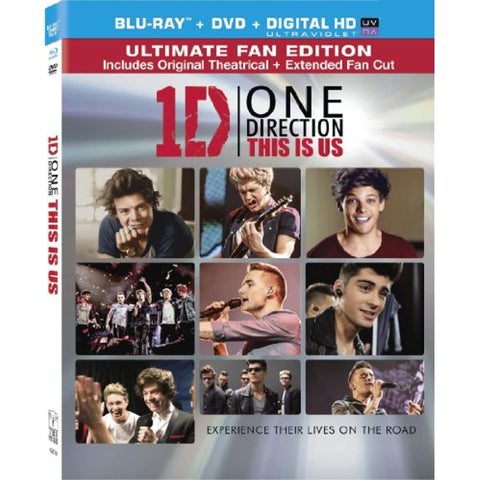 One Direction: This is Us (Two Disc Combo: Blu-ray)