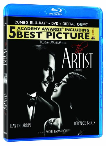 The Artist Blu-ray (cover may vary)