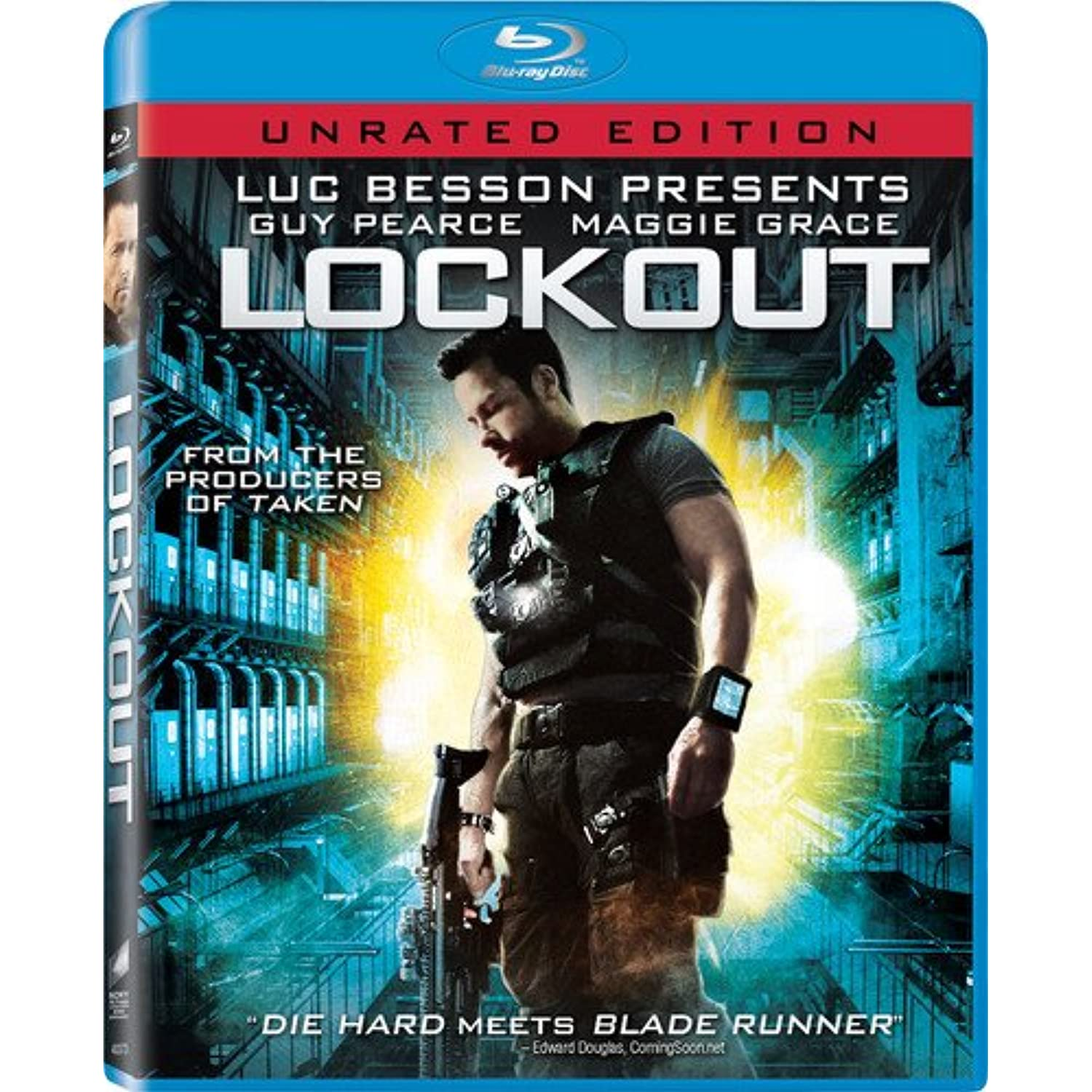 Lockout (Unrated Edition) [Blu-ray]