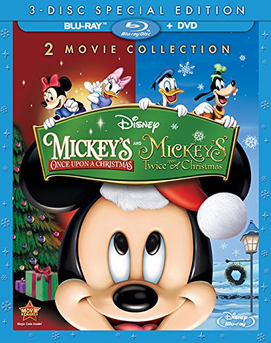 Mickey's Once Upon A Christmas and Mickey Twice Upon Christmas [Blu-ray]