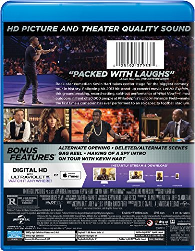 Kevin Hart: What Now? Blu-ray + DVD
