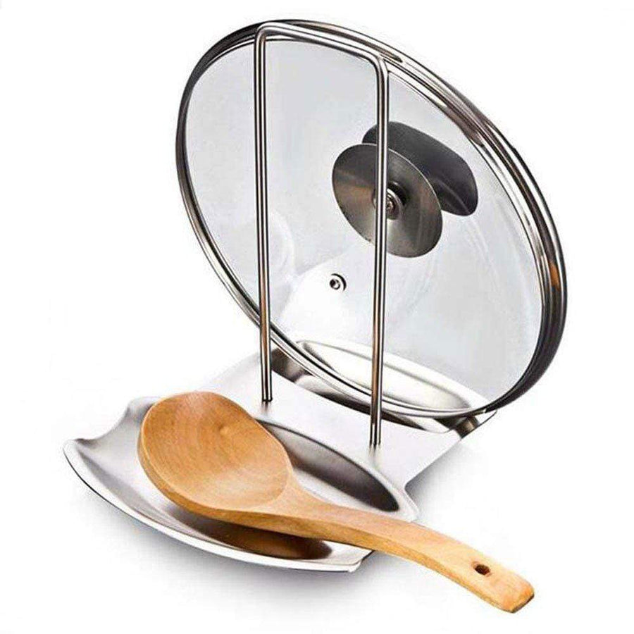 The Pot Lid Stand The Mandoline Slicer
