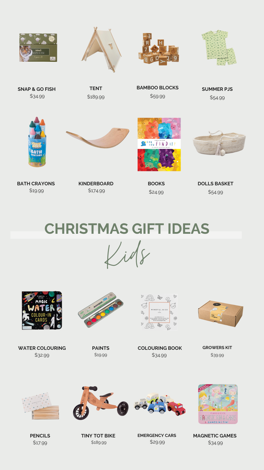 Christmas Gifts for Kids at Little Mash Boutique