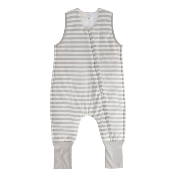 Woolbabe Sleepsuit Pebble