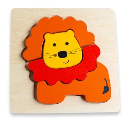 Chunky Lion Puzzle