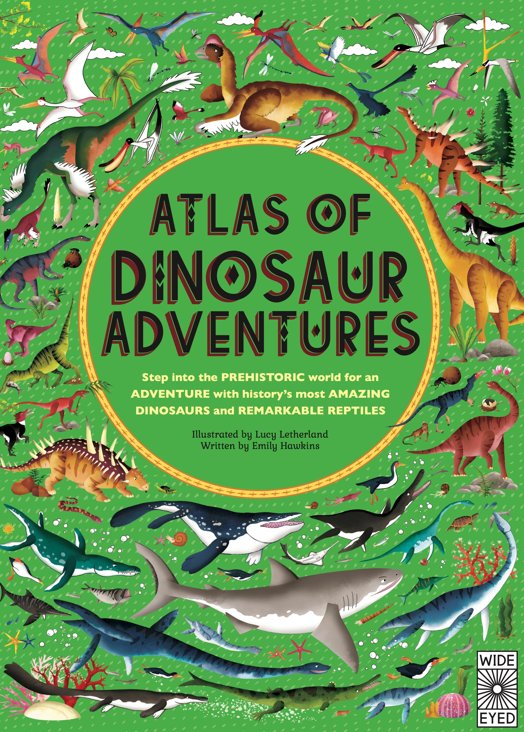 Atlas of Dinosaur Adventures available at Little Mash