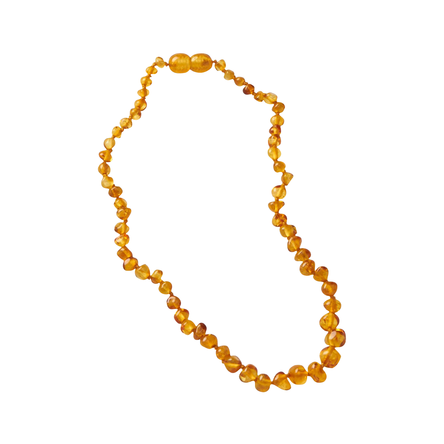 Nature Baby Honey Amber Teething Necklace