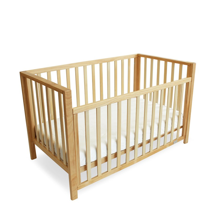 Natural Lulu Babyhood Cot available at Little Mash