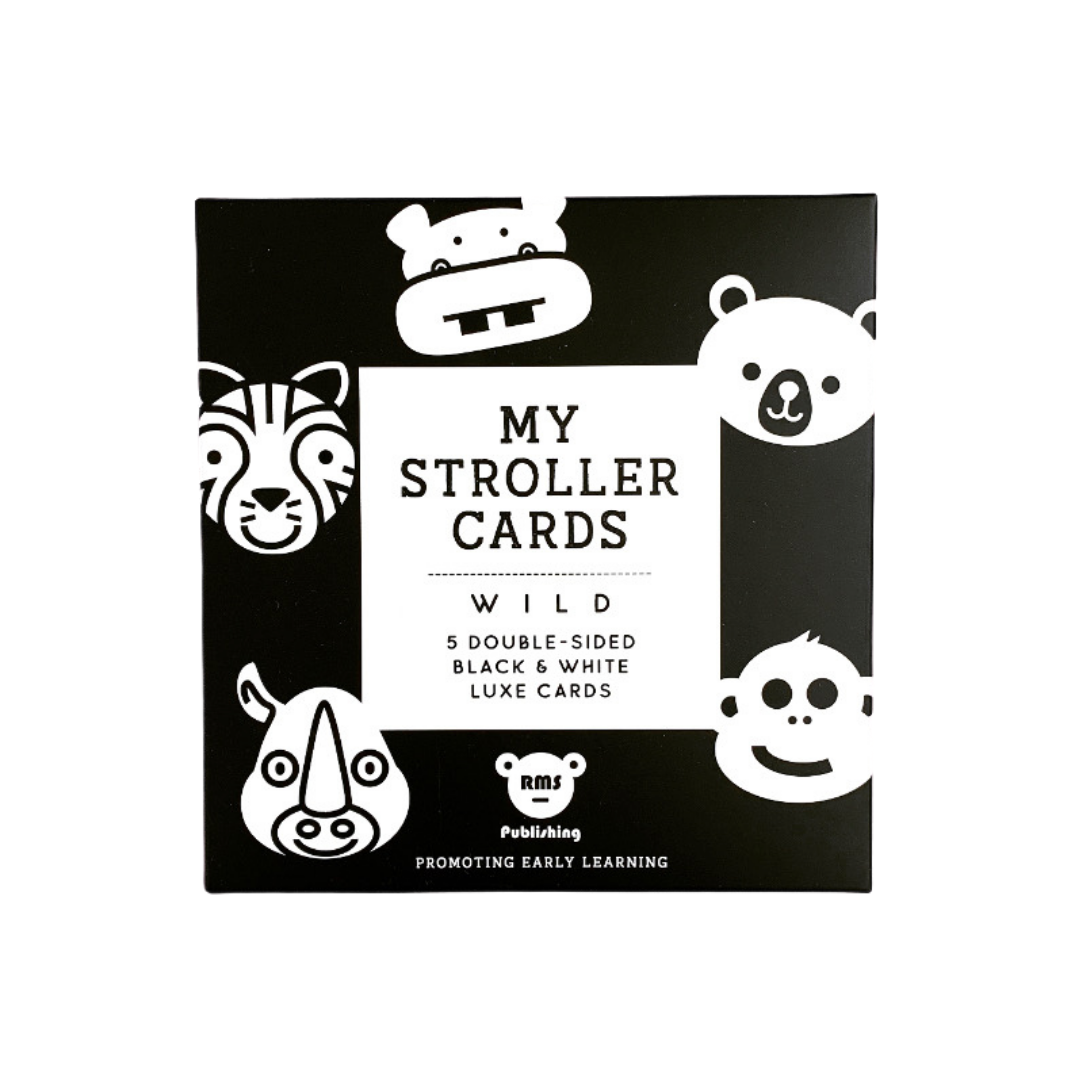 Wild Stroller Cards by My Family Books