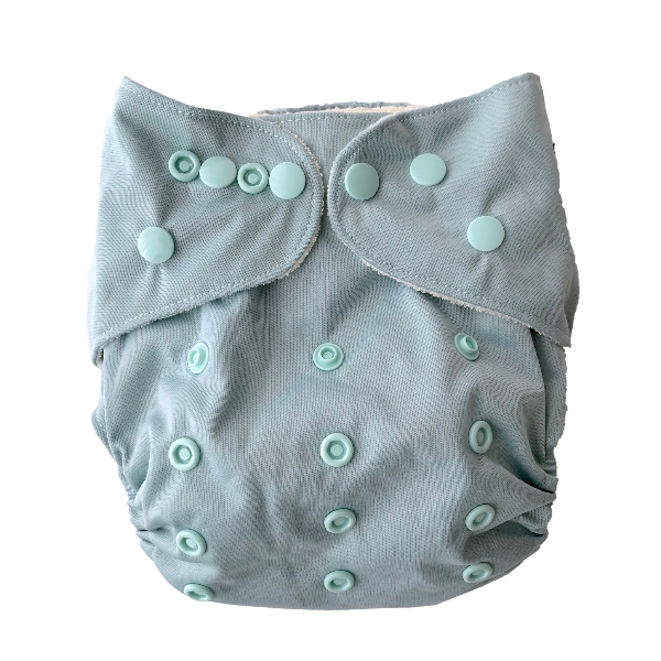 Duck Egg Reusable Cloth Nappy by Bear & Moo