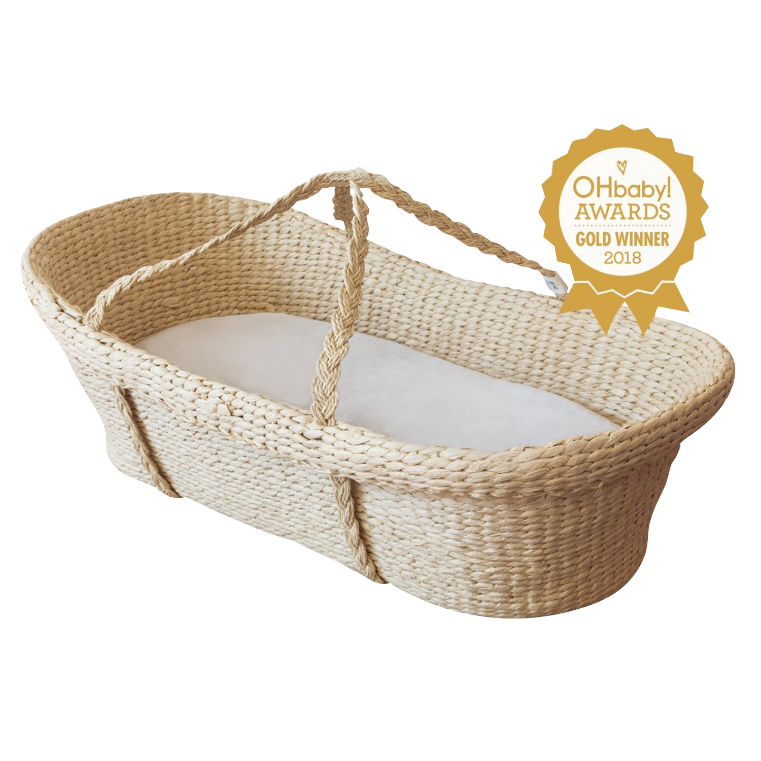 Moses Basket, Mattress & Stand Bundle