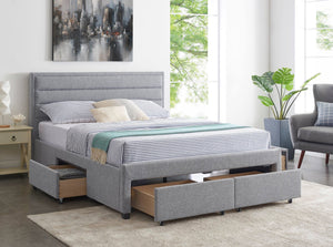 4-Drawer Bed Frame