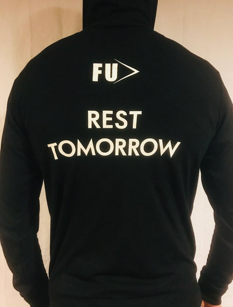 REST TOMORROW - Full Zip Hoodie