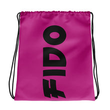 Load image into Gallery viewer, Pink ANDIFIDO Drawstring Bag - Andifido