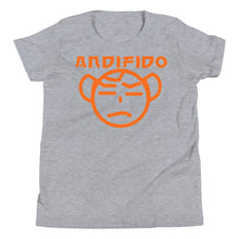 Load image into Gallery viewer, Youth Orange Nerd Tee - Andifido