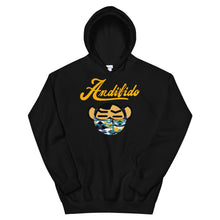 Load image into Gallery viewer, ANDIFIDO Yellow Shaw Mask Hoodie - Andifido