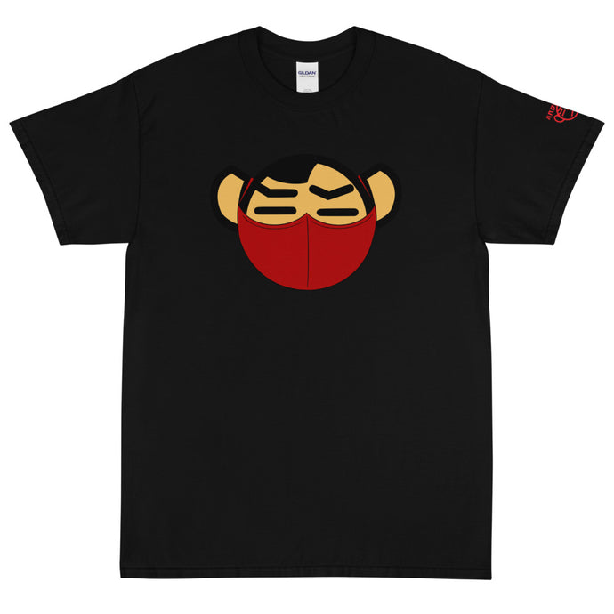 Men's Red Mask Tee Tee - Andifido