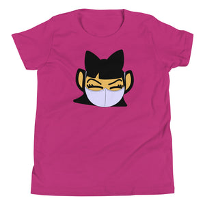 Youth Lilac Mask Tee - Andifido
