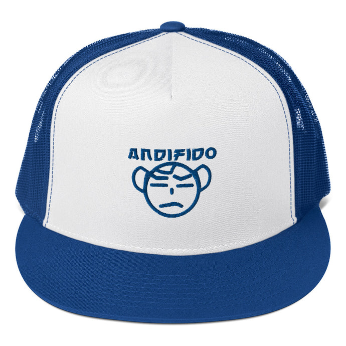 ANDIFIDO Blue Logo Trucker Hat - Andifido