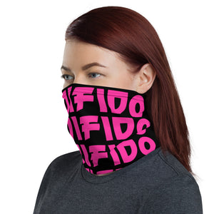 ANDIFIDO Pink & Black Neck Gaiter - Andifido