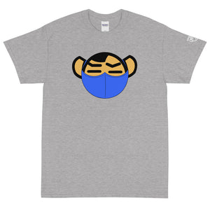 Men's Blue Mask Tee - Andifido