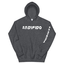 Load image into Gallery viewer, White Print Hoodie - Andifido