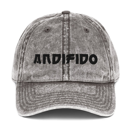 ANDIFIDO Vintage Cotton Grey Hat - Andifido