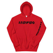 Load image into Gallery viewer, Black Print Hoodie - Andifido