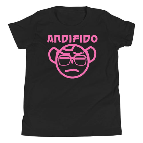 Youth Pink Nerd Tee - Andifido